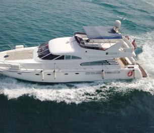 Cozmo 75 Ft Yacht Rental