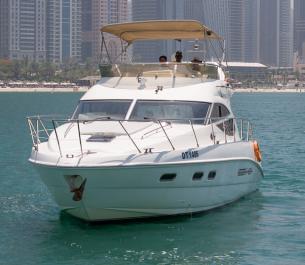 Cozmo 45 Ft Yacht Rental
