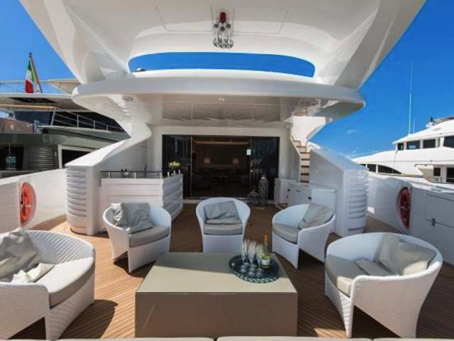 Xclusive 145 Ft Yacht Rental 2