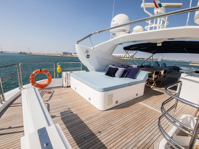 Notorious 90 Ft Yacht Charter 10