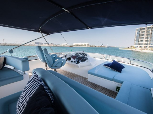 Notorious 90 Ft Yacht Charter 12