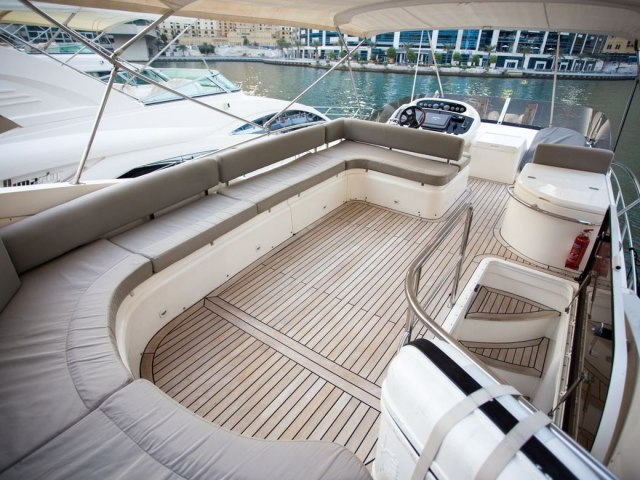 Xclusive 55 Ft Yacht Rental 3