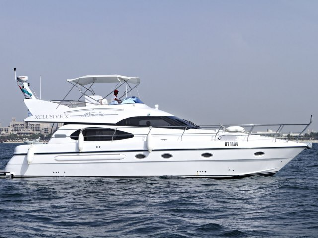Xclusive 53 Ft Yacht Rental 10