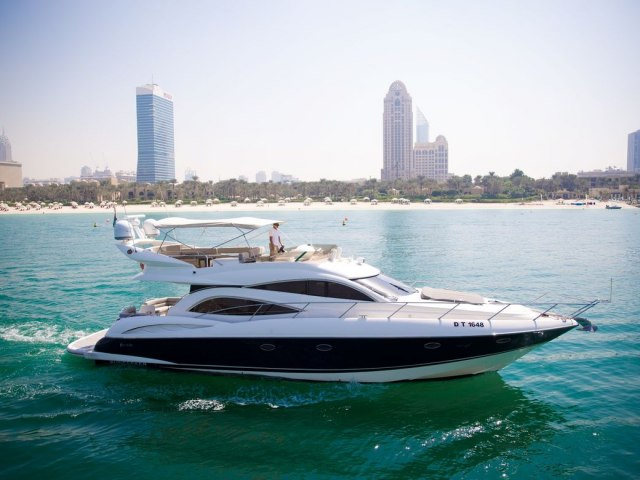 Xclusive 55 Ft Yacht Rental 1