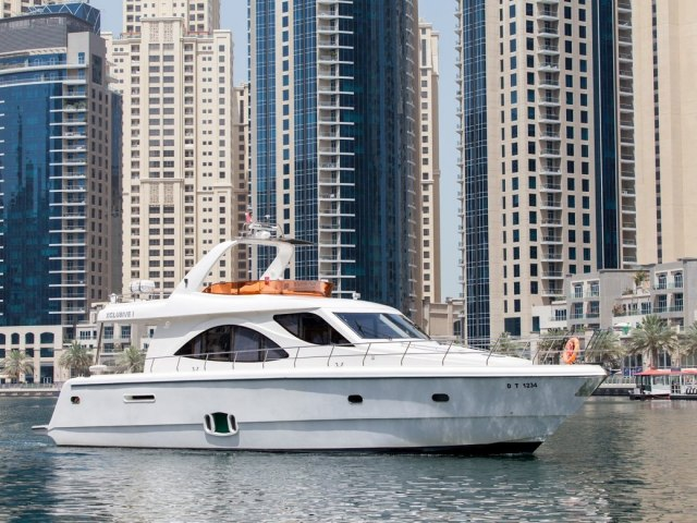 Xclusive 70 Ft Yacht Charter 2