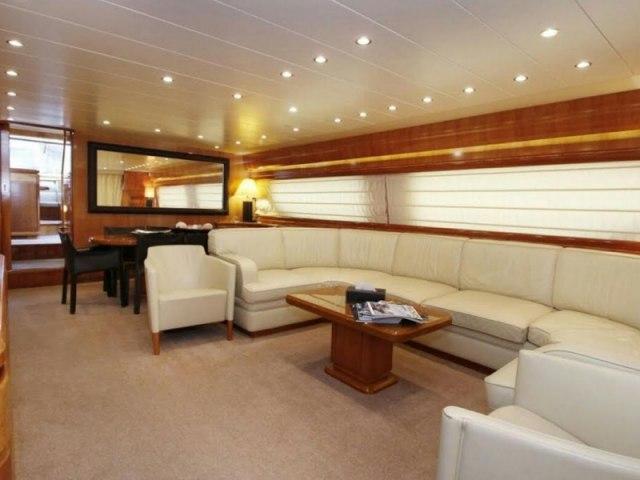 Cozmo 85 Ft Yacht Rental 3